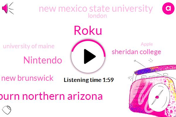 Roku,Auburn Northern Arizona,Nintendo,University Of New Brunswick,Sheridan College,New Mexico State University,London,University Of Maine,Apple,United States,Canada,Amazon
