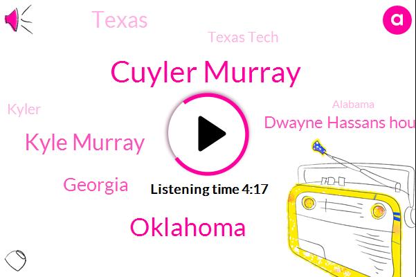 Cuyler Murray,Kyle Murray,Oklahoma,Georgia,Dwayne Hassans House,Texas,Texas Tech,Kyler,Alabama,LSU,Auburn,Football,TCU,West Virginia,Kansas,Iowa,Mississippi State,Tennessee,Sixty Eight Twenty Yard
