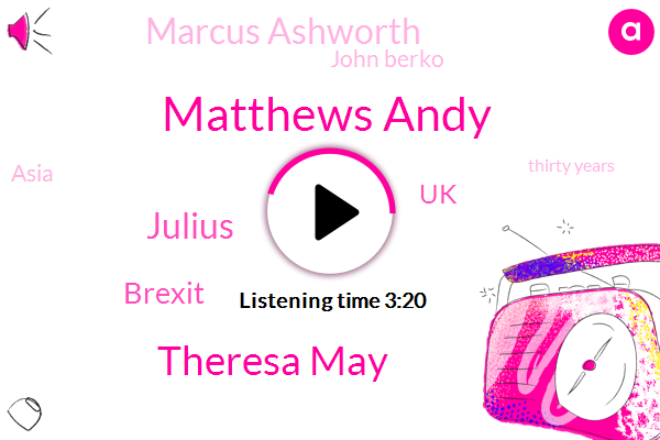 Matthews Andy,Theresa May,Julius,Brexit,UK,Marcus Ashworth,John Berko,Asia,Thirty Years,Ten Years