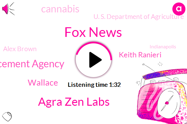 Fox News,Agra Zen Labs,Drug Enforcement Agency,Wallace,Keith Ranieri,Cannabis,U. S. Department Of Agriculture,Alex Brown,Indianapolis,Indiana,Founder,America