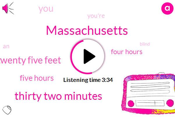 Massachusetts,Thirty Two Minutes,Twenty Five Feet,Five Hours,Four Hours