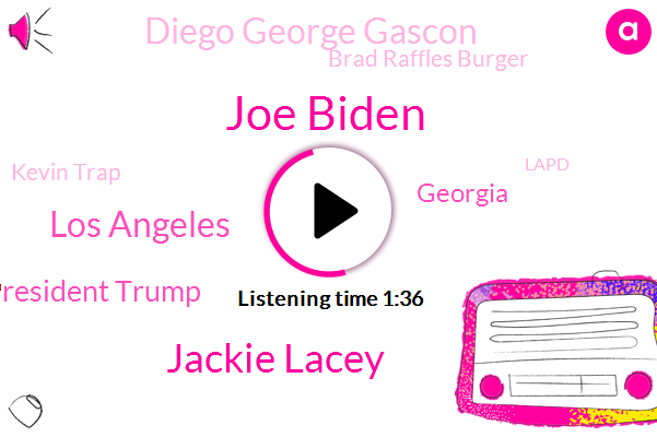 Joe Biden,Jackie Lacey,Los Angeles,President Trump,Diego George Gascon,Georgia,Brad Raffles Burger,Kevin Trap,Lapd,Assistant Chief,ABC,Roethlisberger