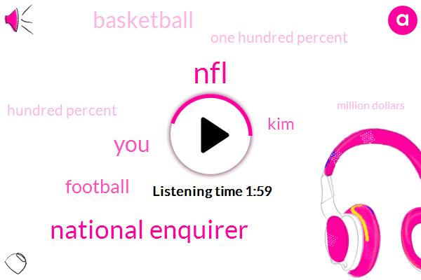 NFL,National Enquirer,Football,KIM,Basketball,One Hundred Percent,Hundred Percent,Million Dollars