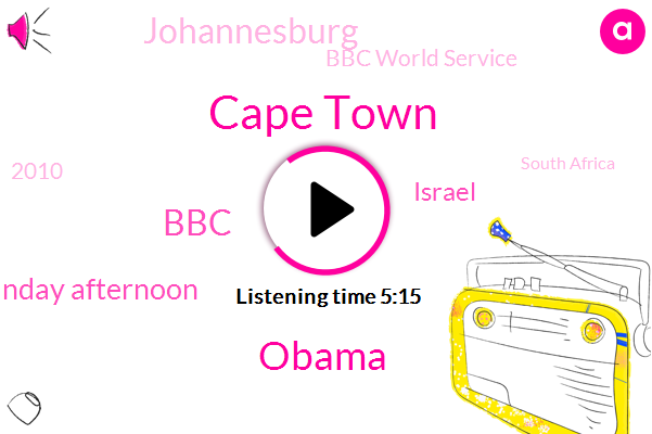 Cape Town,Barack Obama,BBC,Sunday Afternoon,Israel,Johannesburg,Bbc World Service,2010,South Africa,CHO,Bumble Ricky,National Congress,Leyla Natu,Paul Kagame,Two Assailants,International Committee Of The Red Cross,Nyamwasa,Thompson,2014,BEN