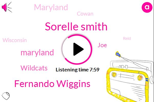 Sorelle Smith,Fernando Wiggins,Maryland,Wildcats,JOE,Cowan,Wisconsin,Reid,Stephan,Dr Fernando Saito,Atta,Brittle,Basketball,Chris Collin,Barrett,DOW,HAP,Northwestern,Tadic