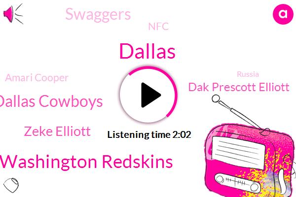 Washington Redskins,Dallas Cowboys,Zeke Elliott,Dak Prescott Elliott,Dallas,Swaggers,NFC,Amari Cooper,Russia,Josh Norman,Todd Gurley,Washington,Quinton Dunbar,Mackenzie,Koubek,Nine Hundred Fifty Three Yards,Forty Eight Yard,Thirty Six Yard,Forty Yard,Six Second