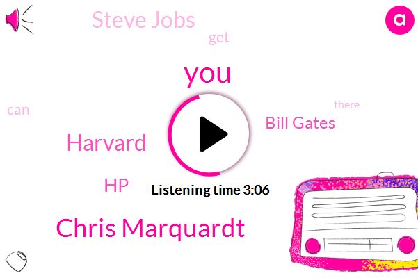 Chris Marquardt,Harvard,HP,Bill Gates,Steve Jobs