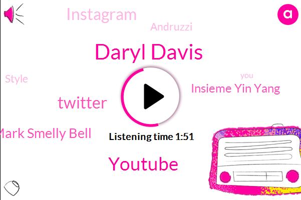 Daryl Davis,Youtube,Twitter,Mark Smelly Bell,Insieme Yin Yang,Instagram,Andruzzi,Style,NBC,Facebook,Encima