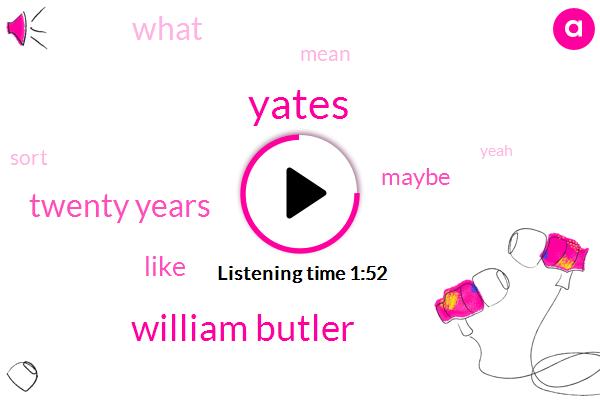 Yates,William Butler,Twenty Years
