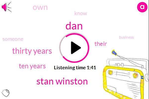 DAN,Stan Winston,Thirty Years,Ten Years