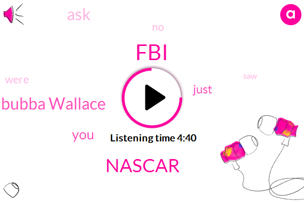 FBI,Nascar,Bubba Wallace