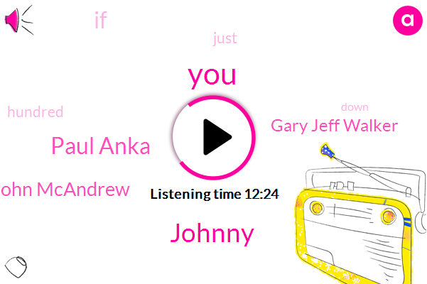 WLW,Johnny,Paul Anka,John Mcandrew,Gary Jeff Walker