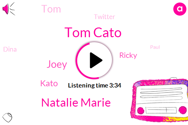 Tom Cato,Natalie Marie,Joey,Kato,Ricky,TOM,Twitter,ROB,Dina,Paul,Cody,Forty Eight Hours,One Hour