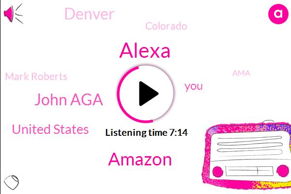 Alexa,Amazon,John Aga,United States,Denver,Colorado,Mark Roberts,AMA,Entertainment Weekly,Houghton Mifflin,Mark Batson,Gobble,Sion,North America,Partner