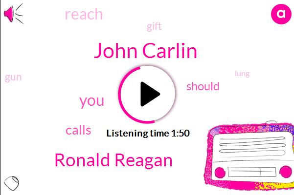 John Carlin,Ronald Reagan