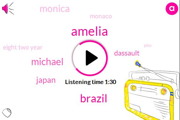 Amelia,Brazil,Michael,Japan,Dassault,Monica,Monaco,Eight Two Year