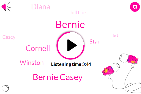 Bernie Casey,Bernie,Cornell,Winston,Stan,Diana,Bill Fries.