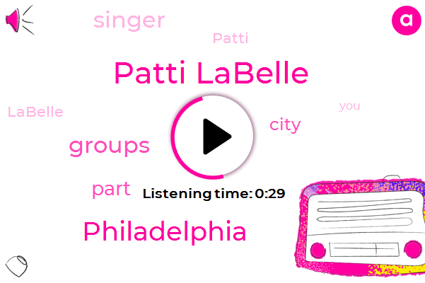 Patti Labelle,Philadelphia