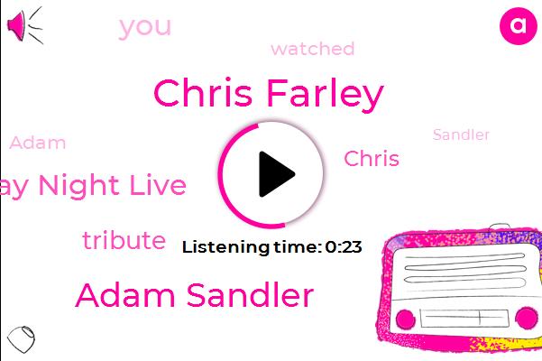 Chris Farley,Adam Sandler,Saturday Night Live