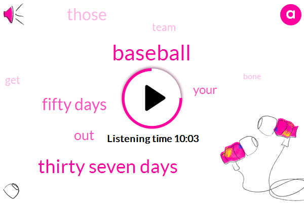 Baseball,Thirty Seven Days,Fifty Days