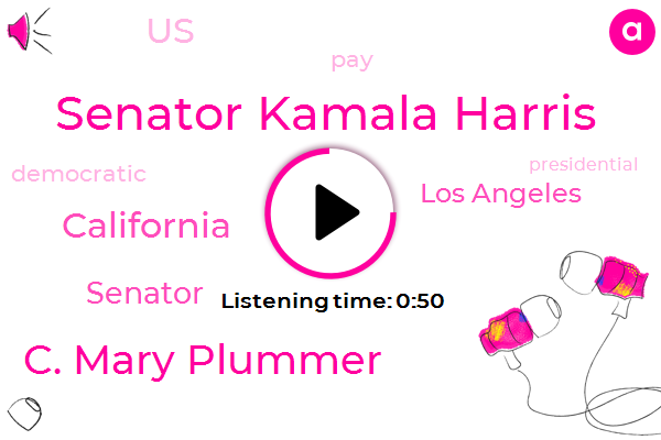 Listen: Kamala Harris to introduce plan to end gender pay gap
