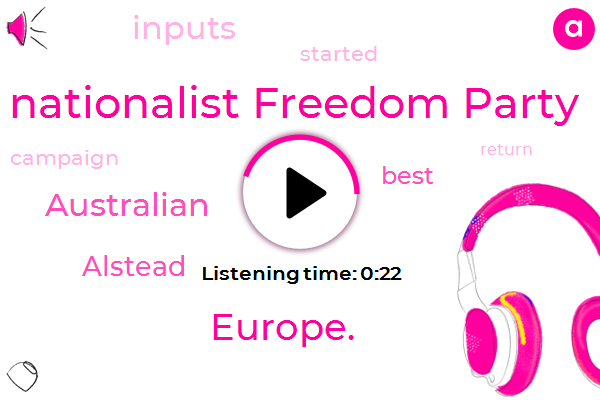 Nationalist Freedom Party,Europe.