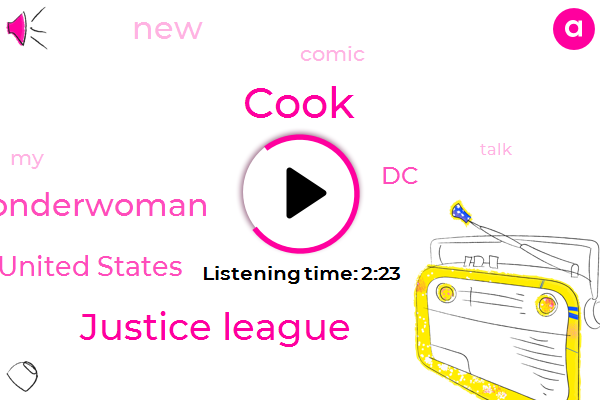 Justice League,United States,Wonderwoman,Cook,Ten Years
