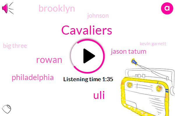 Cavaliers,ULI,Rowan,Philadelphia,Jason Tatum,Brooklyn,Johnson,Big Three,Kevin Garnett,Denmark,Danny