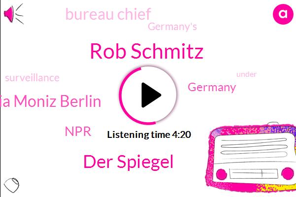 Germany,Melania Moniz Berlin,Rob Schmitz,NPR,Der Spiegel,Bureau Chief