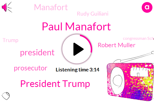 Paul Manafort,President Trump,Prosecutor,Robert Muller,Rudy Guiliani,Donald Trump,Congressman Schiff,Rudy Giuliani,Manafort,Jay Sokoll,Professor,John Dowd,Thirty Years