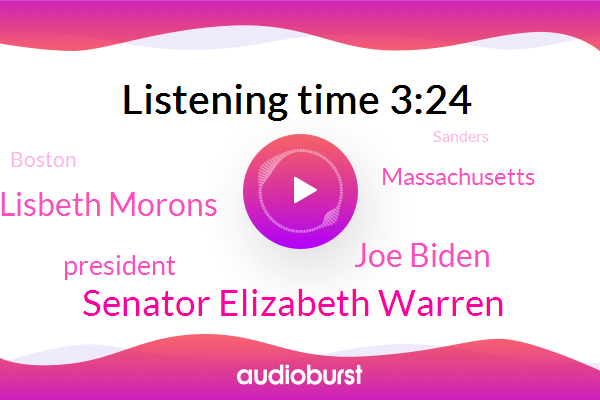 Senator Elizabeth Warren,Joe Biden,Lisbeth Morons,President Trump,Massachusetts,Sanders,Boston,New York Times,Herndon,Bernie,Cambridge