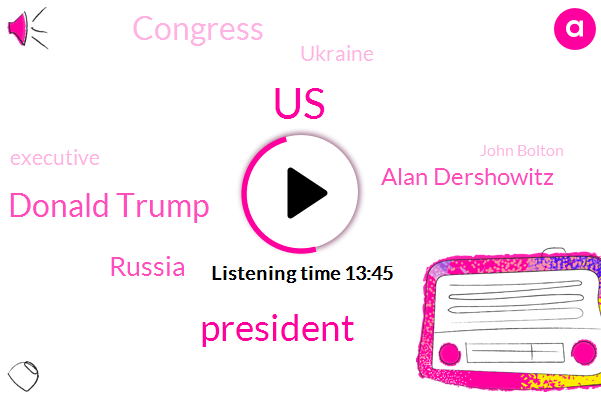 President Trump,Donald Trump,United States,Russia,Alan Dershowitz,Congress,Ukraine,Executive,John Bolton,Dick Cheney,Attorney,Senate,New York Times,Adam Schiff,Official,General William Bar Dick,Hunter Biden,Spencer Ackerman