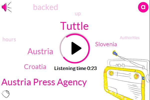 Austria,Austria Press Agency,Tuttle,Croatia,Slovenia