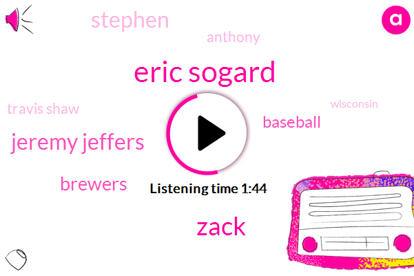 Eric Sogard,Zack,Jeremy Jeffers,Brewers,Baseball,Stephen,Anthony,Travis Shaw,Wisconsin