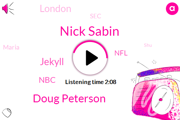 Nick Sabin,Doug Peterson,Jekyll,NBC,NFL,London,SEC,Maria,SHU,Football,Twenty Years