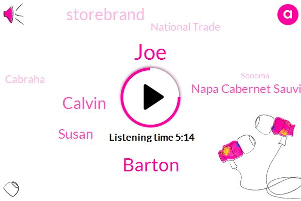 Napa Cabernet Sauvignon,Storebrand,JOE,Cabraha,Sonoma,Barton,Calvin,Susan,Producer,National Trade