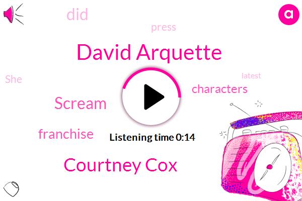 David Arquette,Courtney Cox