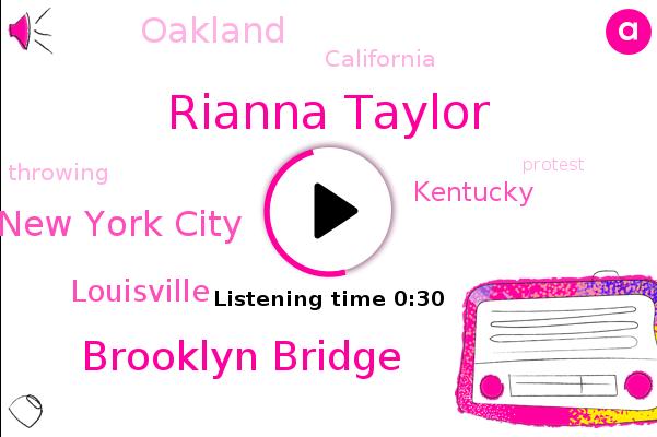 Rianna Taylor,Brooklyn Bridge,New York City,Louisville,Kentucky,ABC,Oakland,California