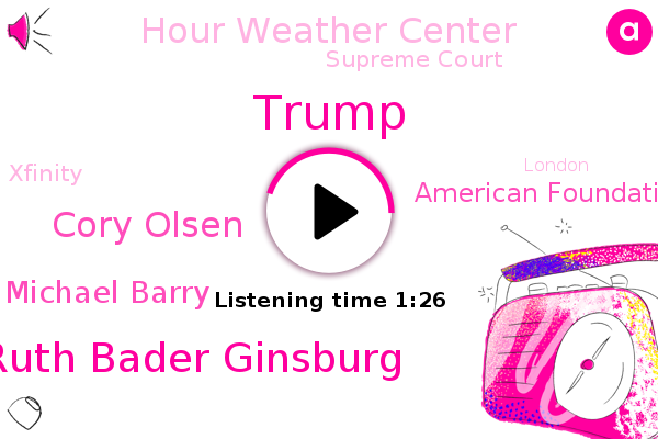 Donald Trump,American Foundation For Suicide Prevention,Gulf Coast,Ruth Bader Ginsburg,Hour Weather Center,Houston Houston,Matagorda Bay,Cory Olsen,Supreme Court,Xfinity,London,Louisiana,Michael Barry