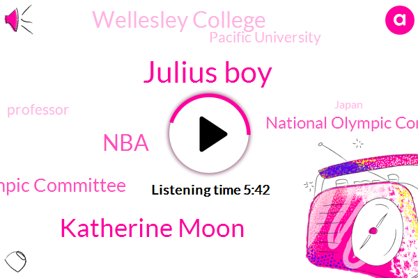 Olympics,International Olympic Committee,Olympic,National Olympic Committees,Professor,Soccer,NBA,Wellesley College,Japan,United States,Oregon,Julius Boy,Football,Pacific University,Tokyo,Katherine Moon