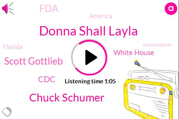 White House,CDC,FDA,Donna Shall Layla,Chuck Schumer,Scott Gottlieb,CBS,America,Florida,Commissioner,President Trump,Georgia,Kentucky,Tennessee,Missouri
