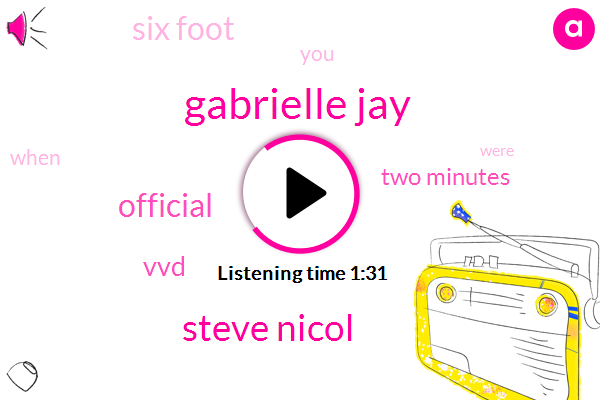 Gabrielle Jay,Steve Nicol,Official,VVD,Two Minutes,Six Foot