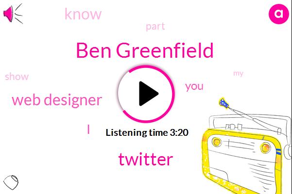 Ben Greenfield,Twitter,Web Designer