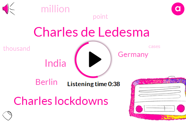 Charles De Ledesma,India,Berlin,Germany,Charles Lockdowns