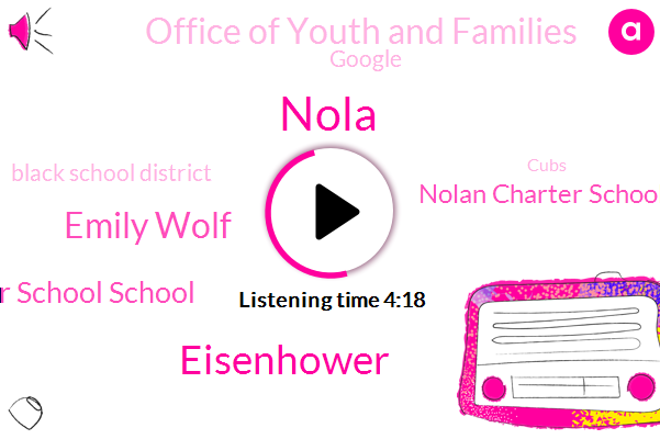 New Orleans,Nola,Dwight D. Eisenhower Charter School School,Nolan Charter Schools Network,Eisenhower,Office Of Youth And Families,New York City,Memphis,Tennessee,Emily Wolf,Google,Black School District,Cubs,NPR,ENO,Reporter,Federal Government