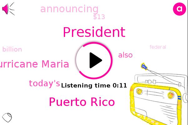 President Trump,Puerto Rico,Hurricane Maria