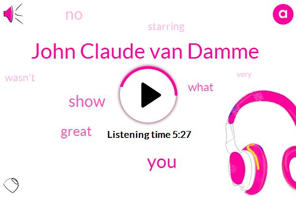 John Claude Van Damme