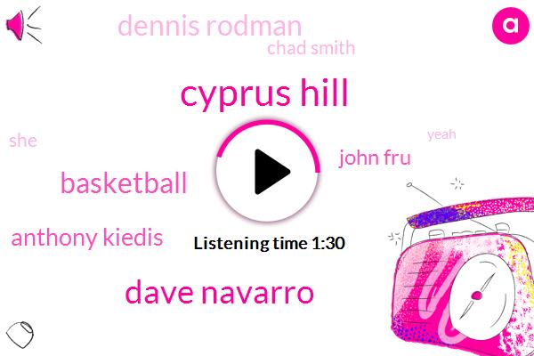 Cyprus Hill,Dave Navarro,Basketball,Anthony Kiedis,John Fru,Dennis Rodman,Chad Smith