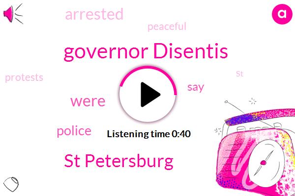 St Petersburg,Governor Disentis