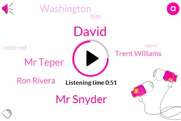 Mr Snyder,Mr Teper,Ron Rivera,David,Trent Williams,Washington